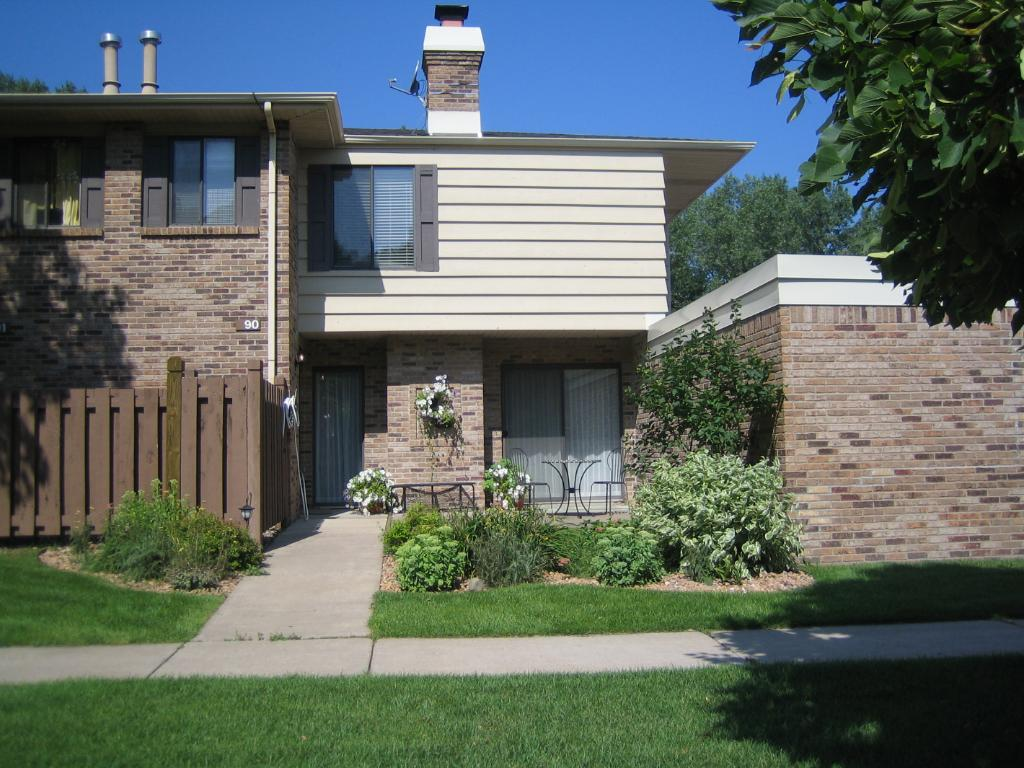 Two story townhome with attached garage