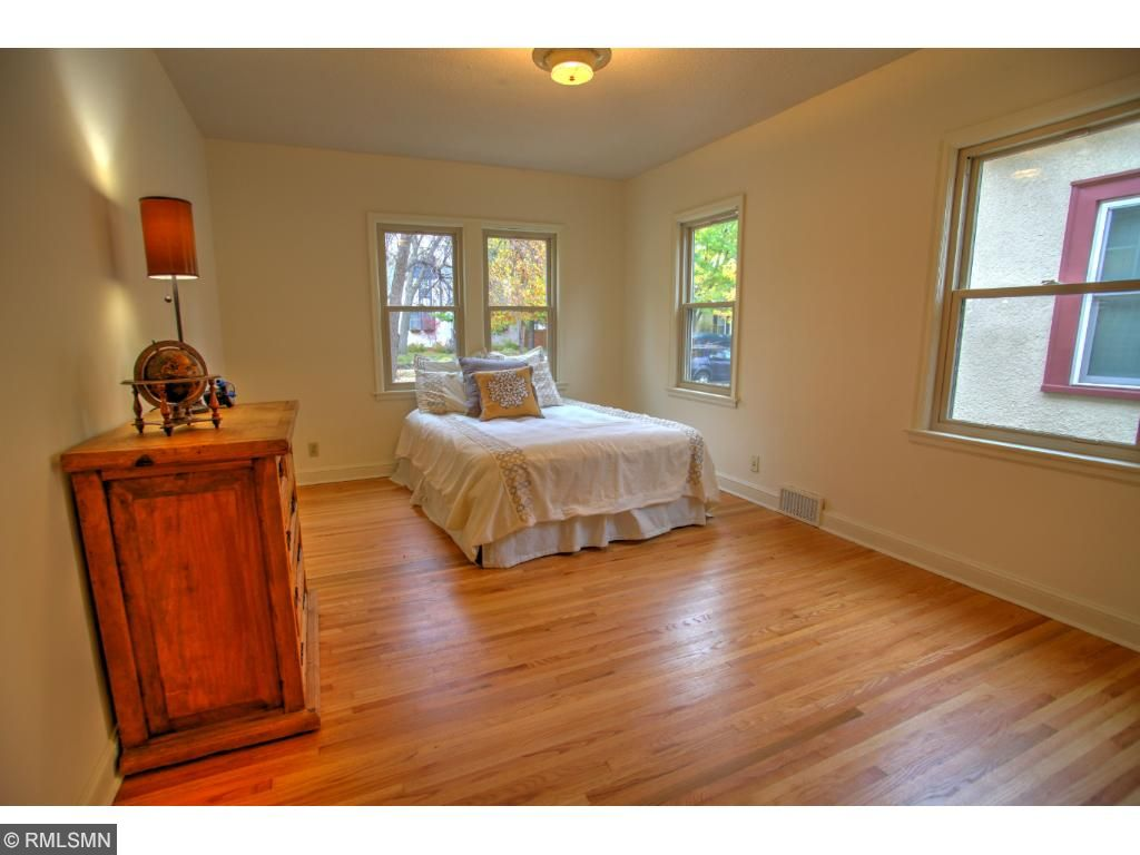Very large main floor bedroom!