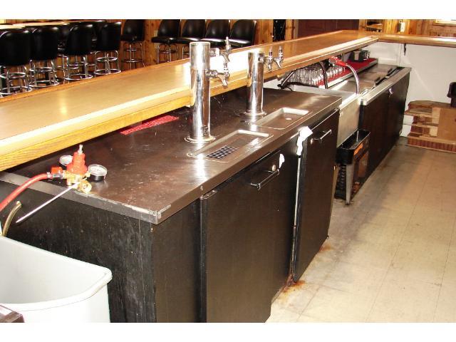 Draft tap system.