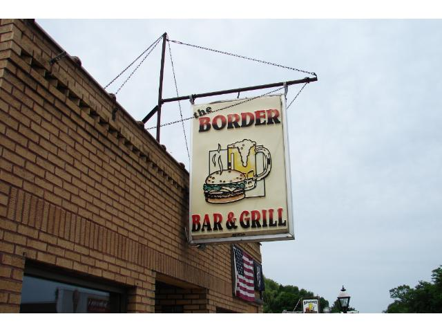 """Border Bar is a landmark type """"destination"""" for day trippers from the Cities. One hour to the Twin Cities."""
