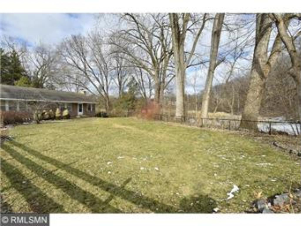 1.38 acre lot.  Build new home further South on lot to conform with wetland setback.