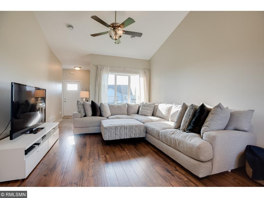 Windows and vaulted ceilings give such an airy feel.Photo: Previously sold home