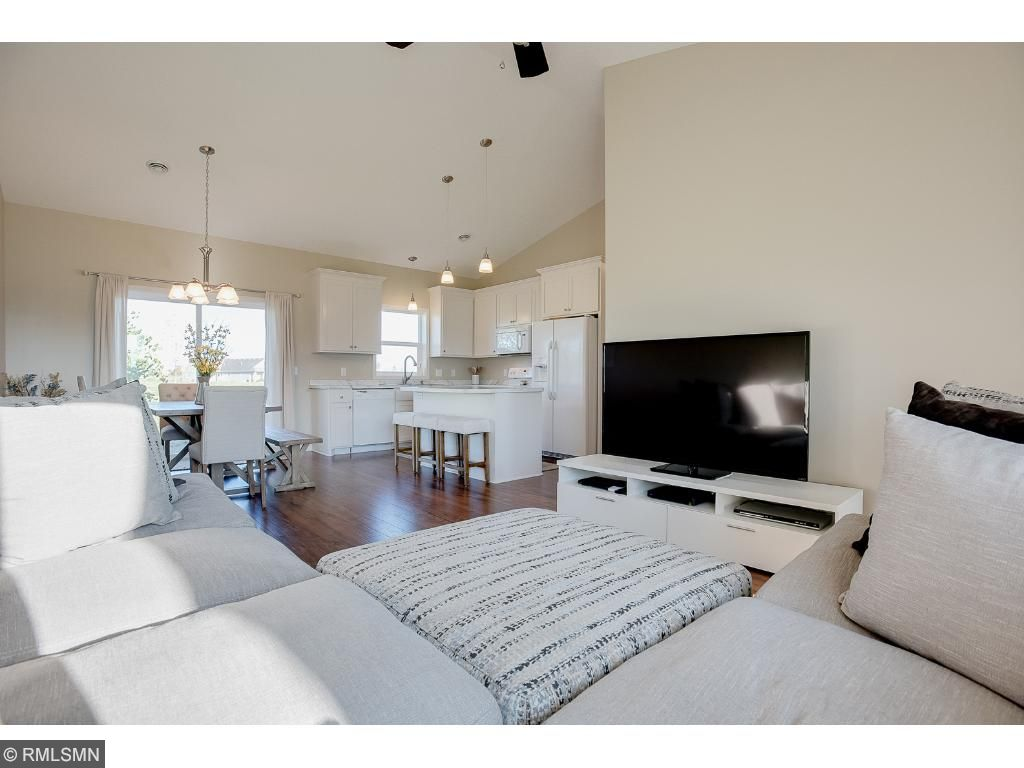 Open floor plan is great for entertaining.Photo: Previously sold home