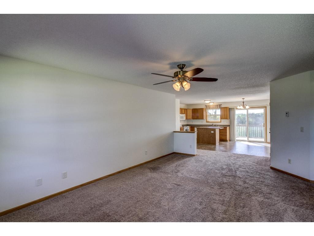 Entry View - nice open floor plan great for entertaining.