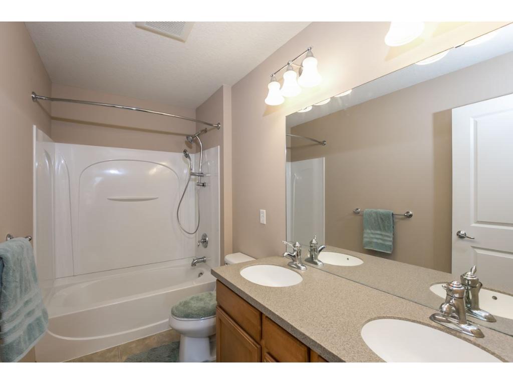2 Bowl Vanity in the Upper Level Full Bath.