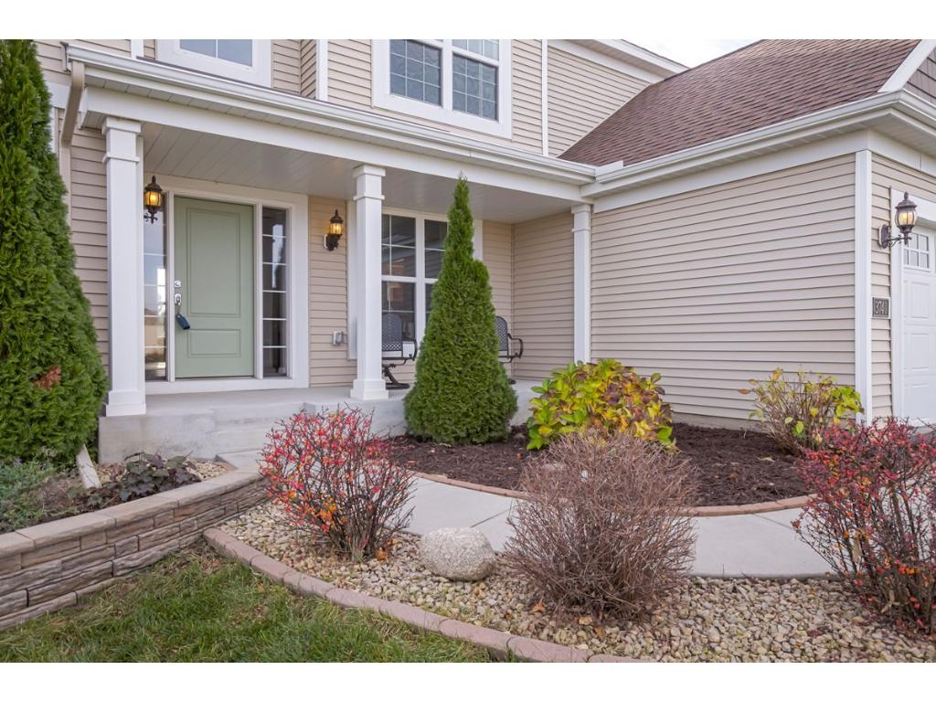 Welcome your guests through your stately front Porch and 2-Story Entry.
