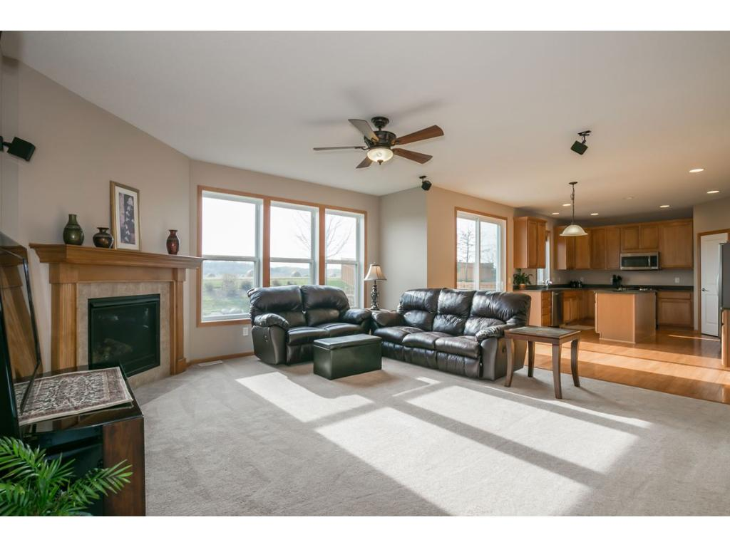 Large Open Floor Plan lends to easy entertaining and living.