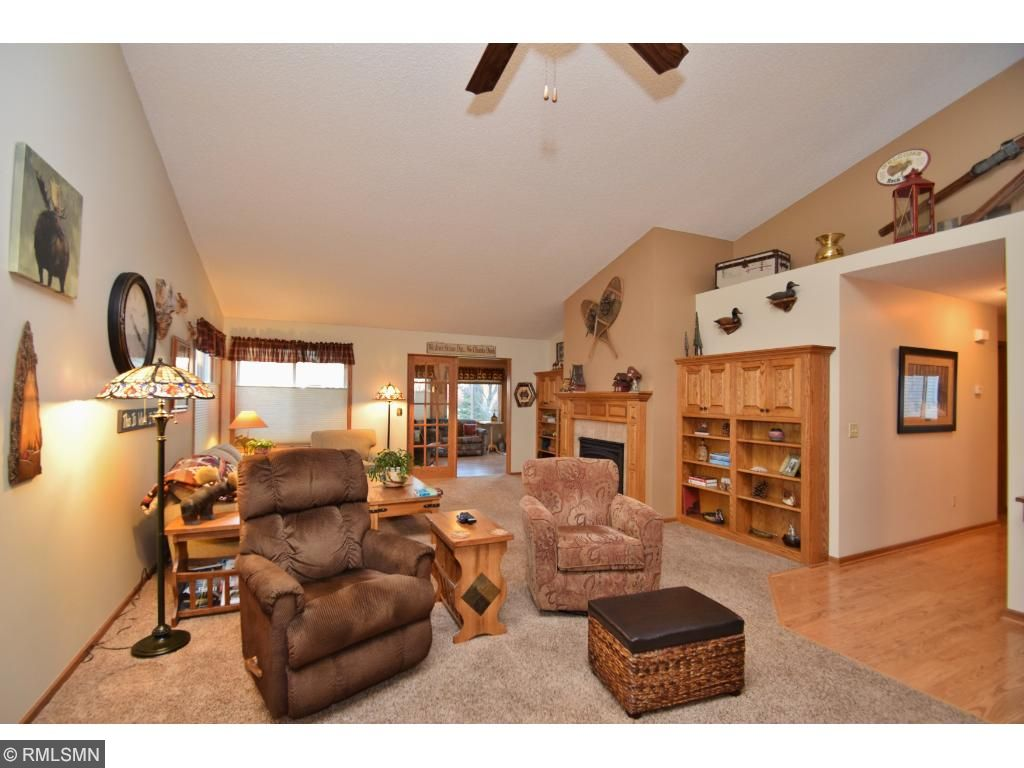 Lots of space to entertain family and friends