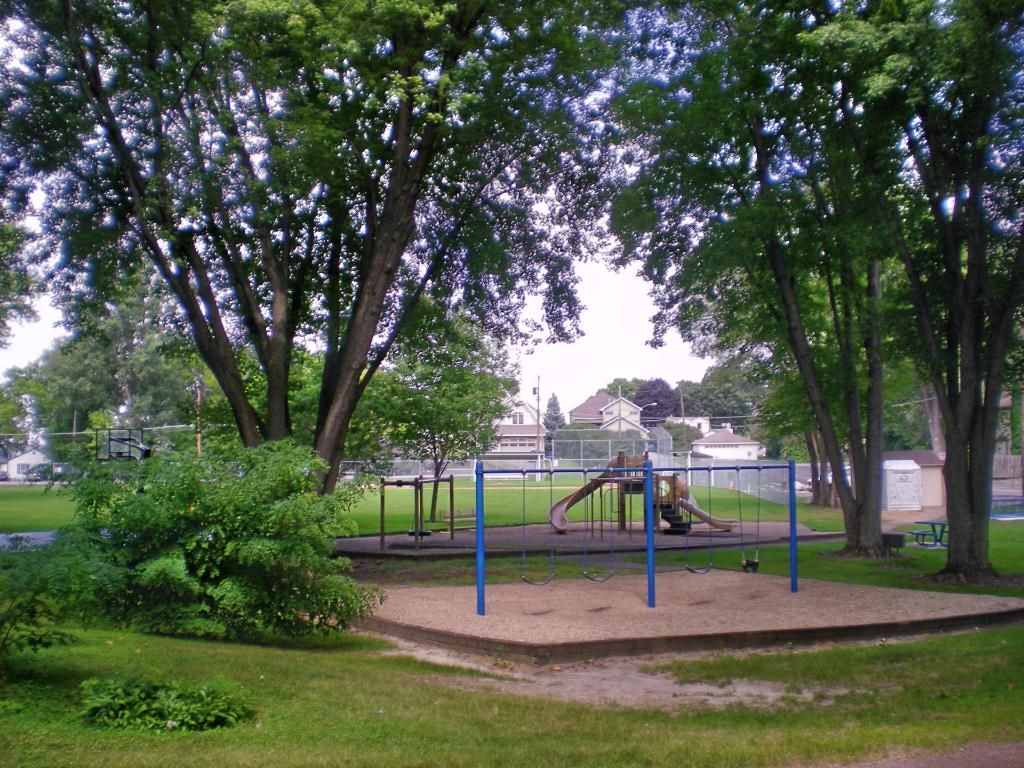A great park right down the street!