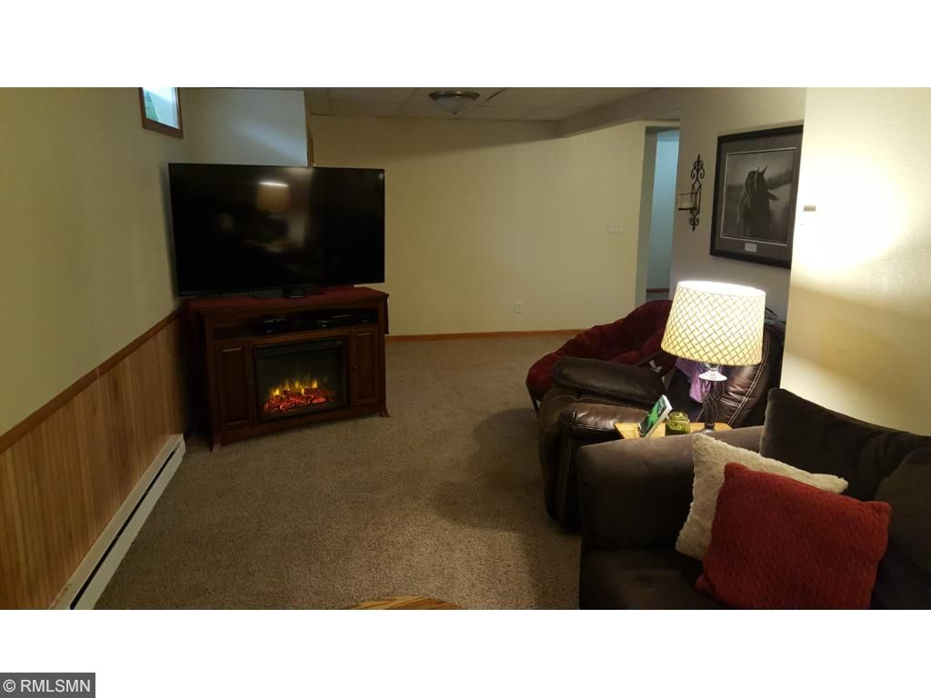 Lower Level family room. Area that could be turned into a 4th bedroom.