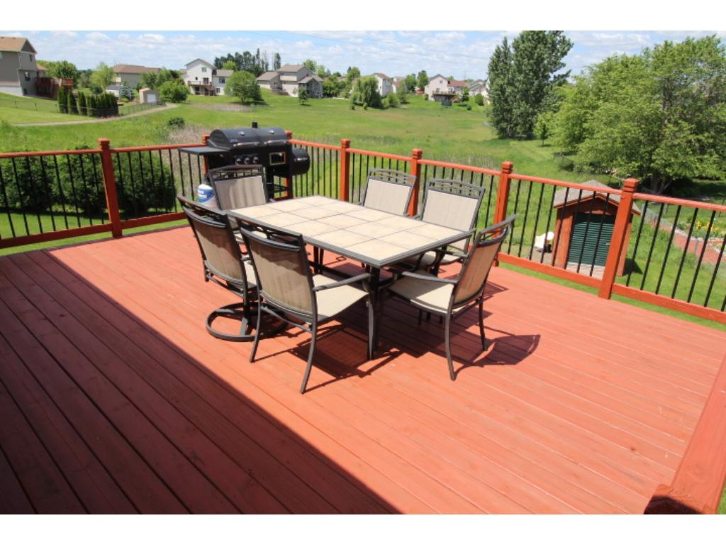 Deck off the dining/kitchen area