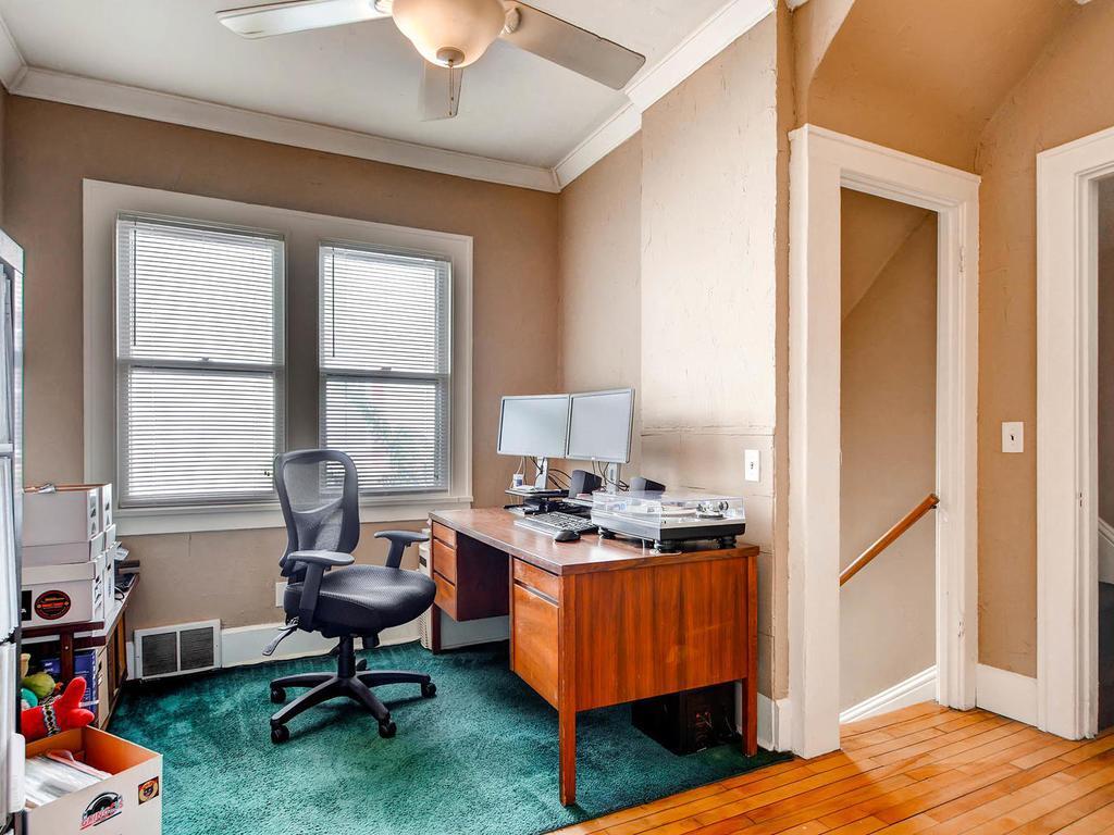 Office on the main floor.