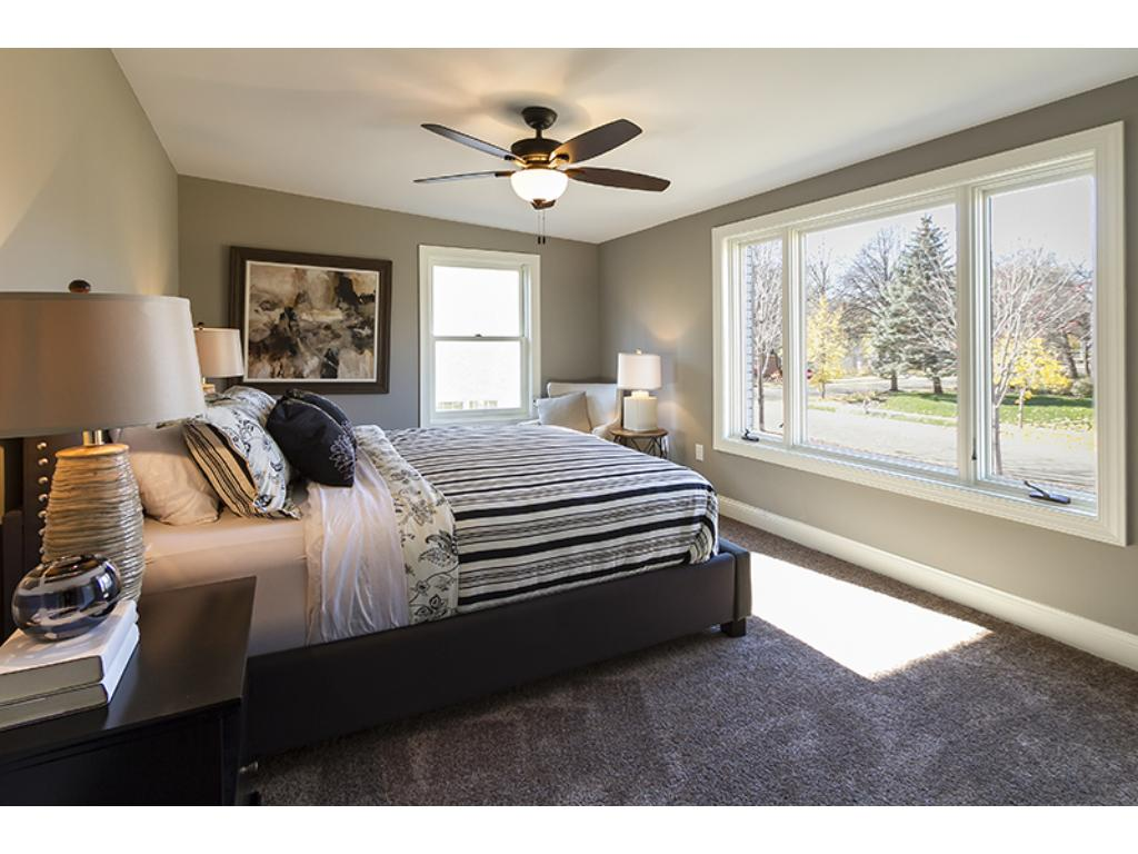 Master bedroom with an amazing master bath.