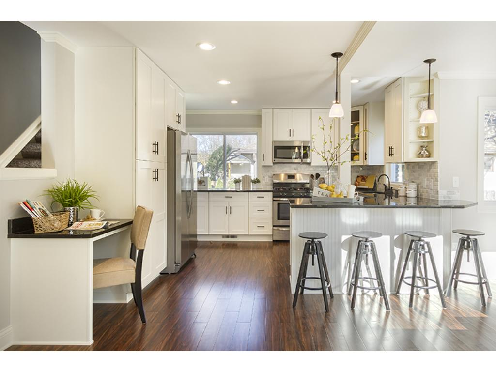 Open concept with great flow on the main floor.