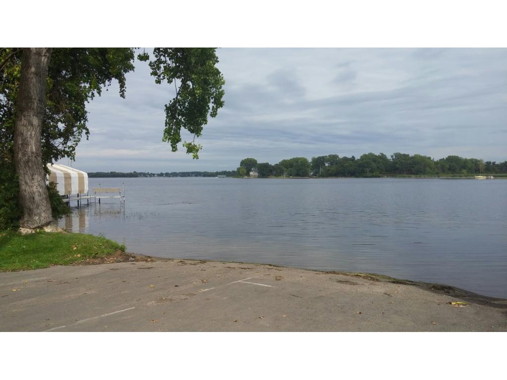 Enchanted Island is virtually surrounded by Lake Minnetonka and its year round activities...fishing, water sports, snowmobiling, swimming, etc.! This handy boat launch is located just around the bend from the lot!