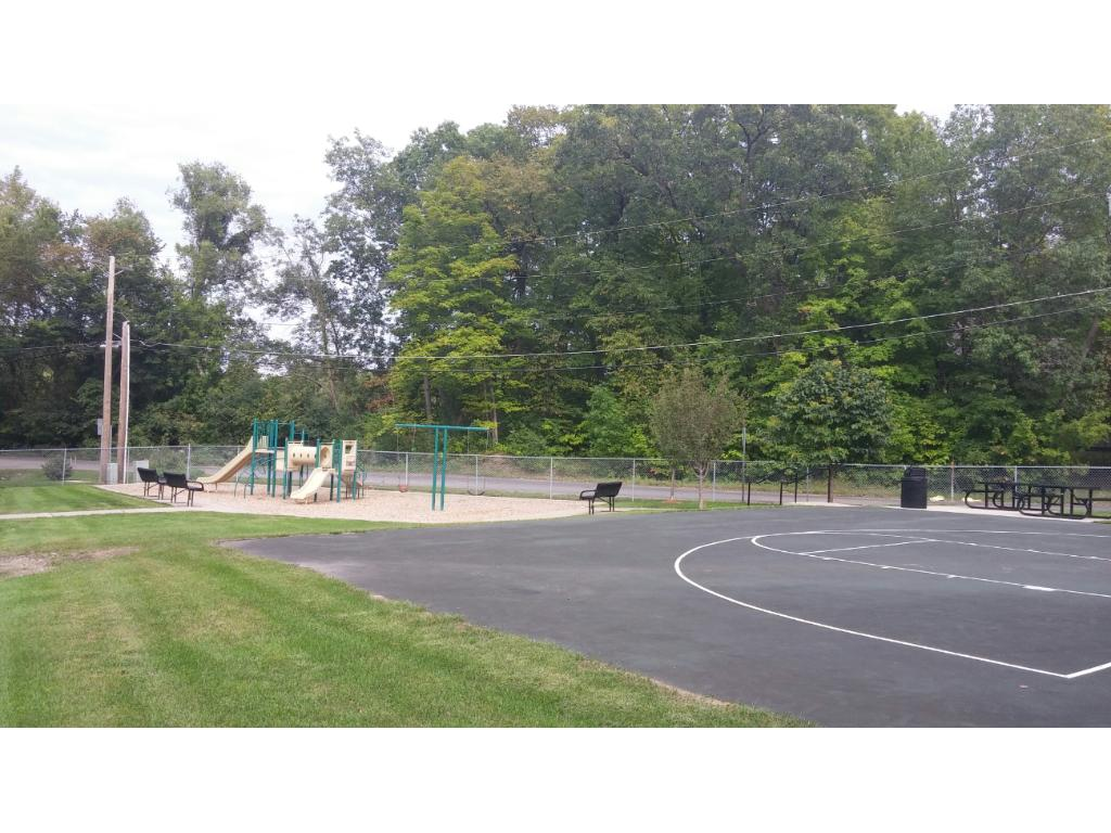 Fantastic park with tot lot and basketball court is also conveniently nearby!