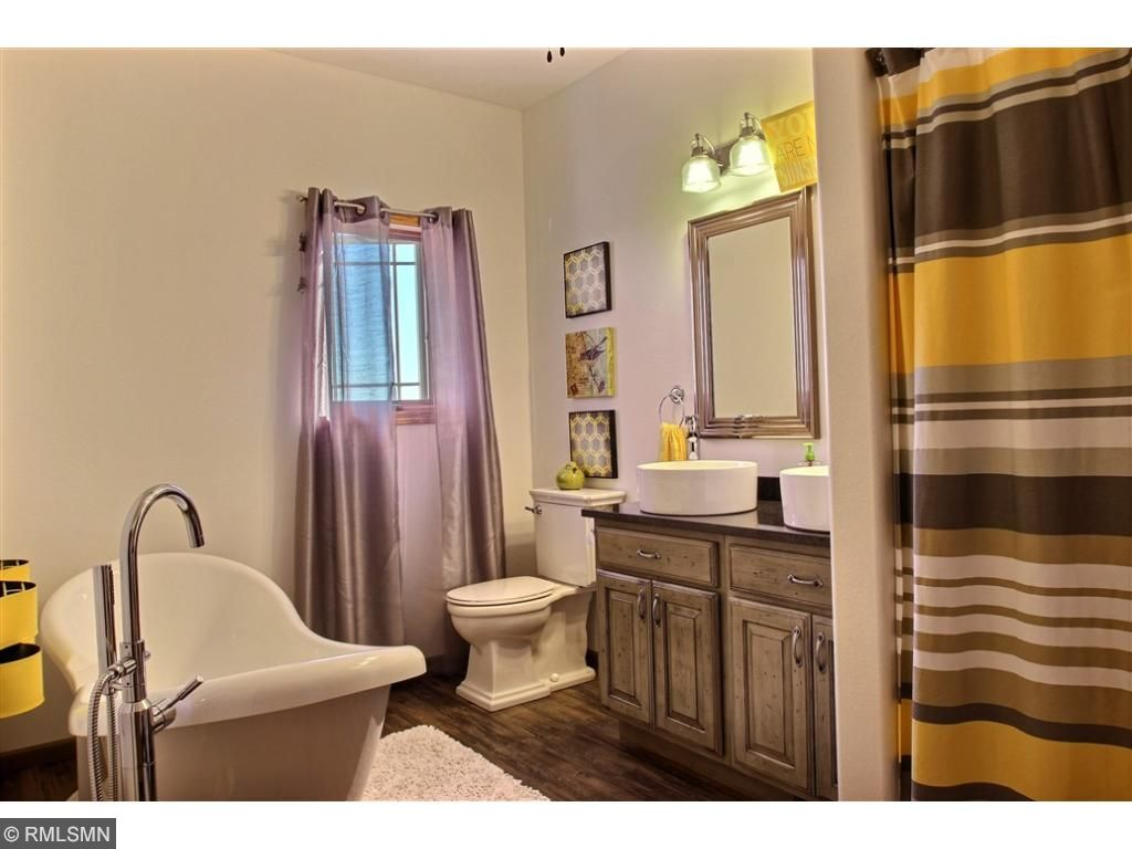 Here is a shot of the private master bath.