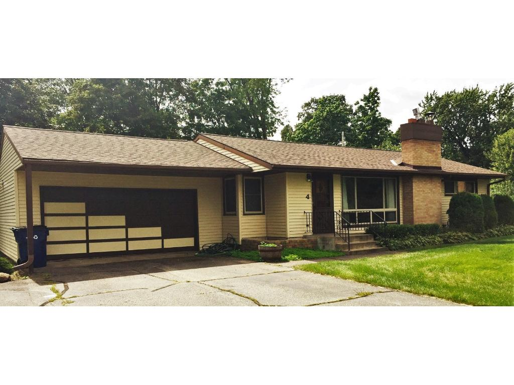 Beautiful ranch home at the end of a cul-de-sac with almost a half acre of land, Newer Roofing, windows and siding.