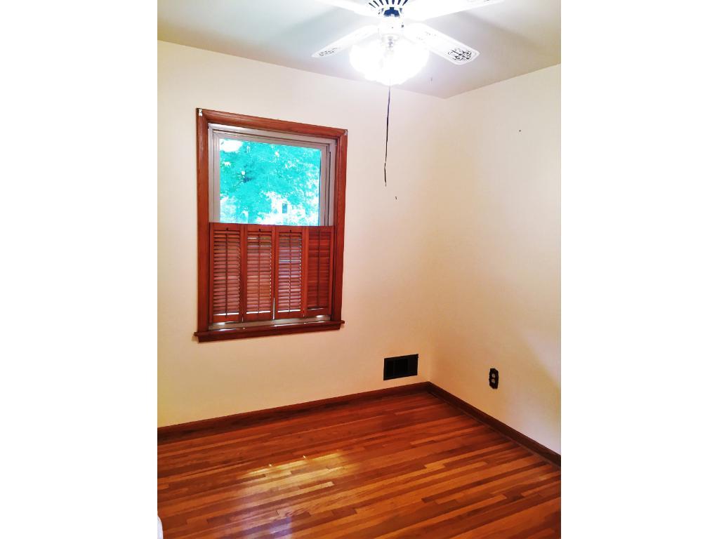 2nd Main floor Bedroom with Hardwood flooring