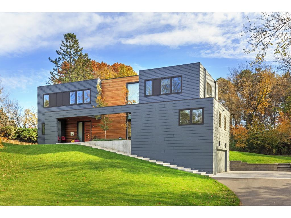 Stunning modern masterpiece designed by award-winning Peterssen/Keller Architecture and built by Elevation Homes, a division of renowned Streeter & Associates. Completed in 2015.