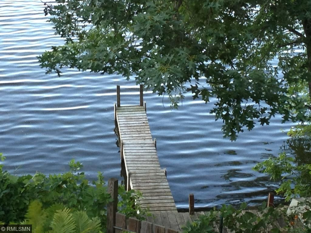 Plenty of room for dock and water toys with about 100 feet of lake shore.