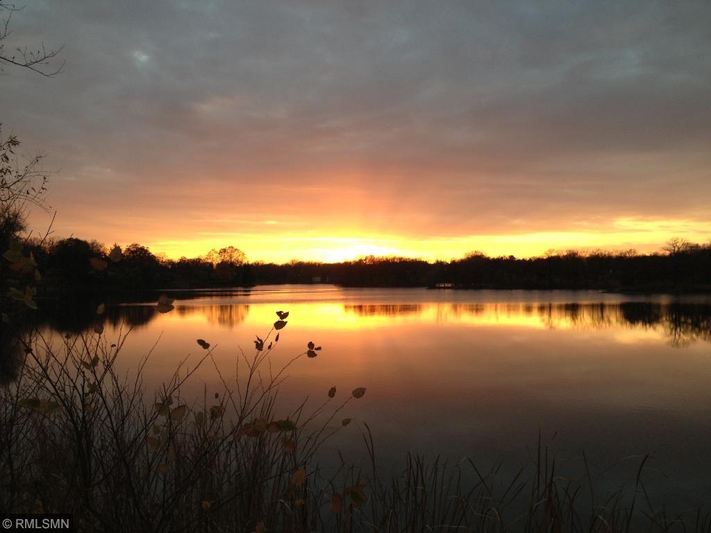 Sunset on Silver Lake.