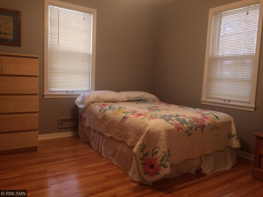 One of three bedrooms on main level.