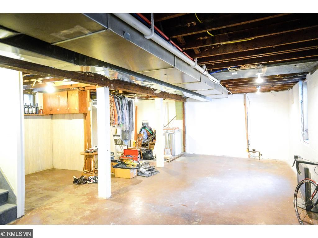 Basement is a completely clean slate to finish to the new owners specifications.