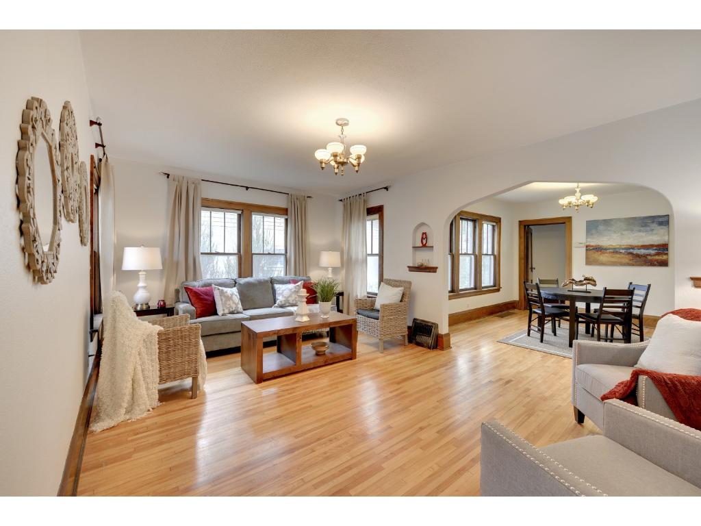 Welcome home! Charming 1921 bungalow in South Minneapolis' sought-after Longfellow neighborhood.