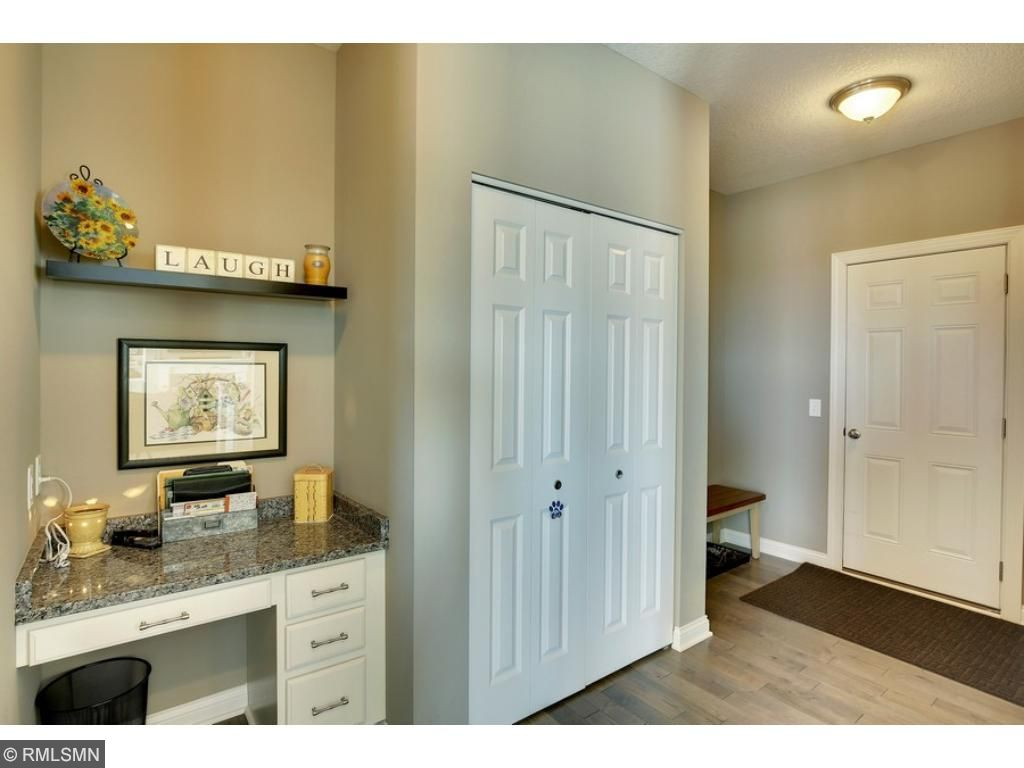 Great mudroom with command center and plenty of space.