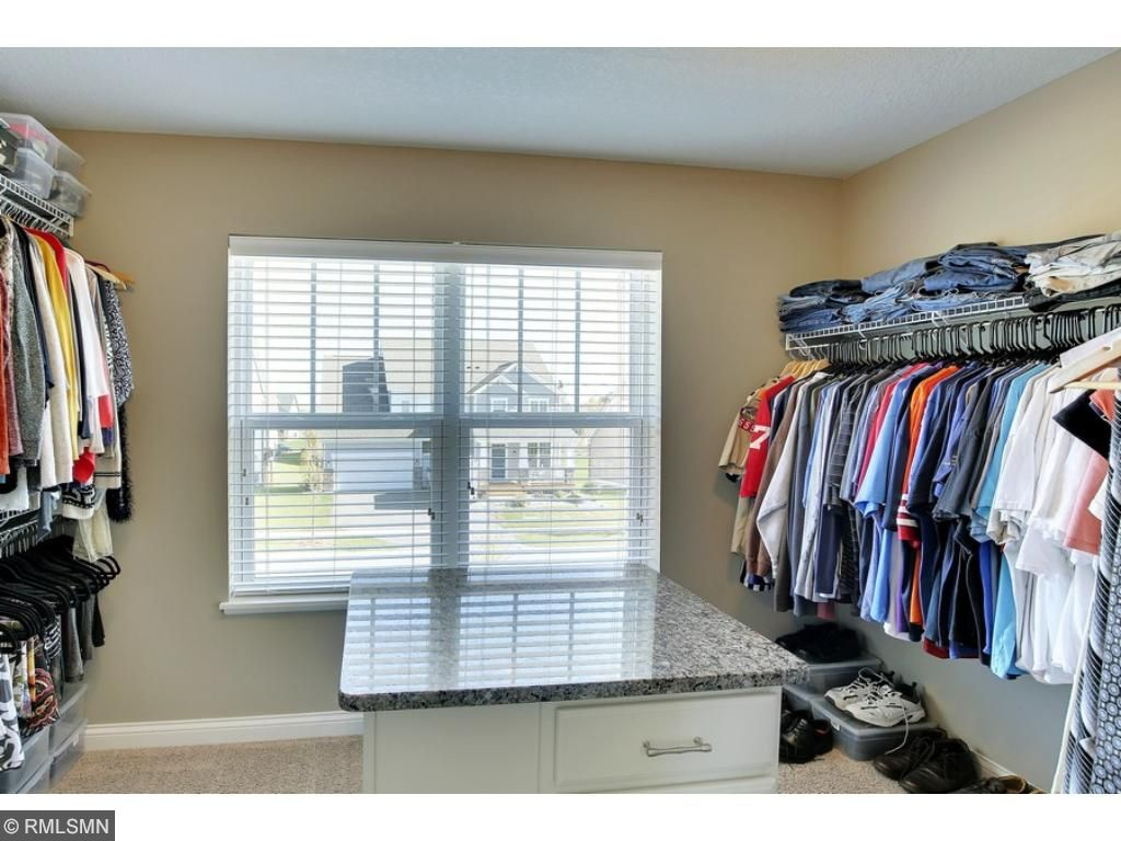 Wow! Look at this walk-in closet!