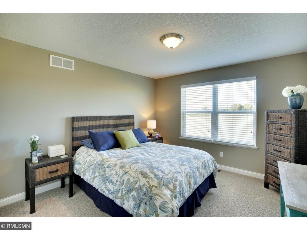 Bedroom 2 with generous closet space