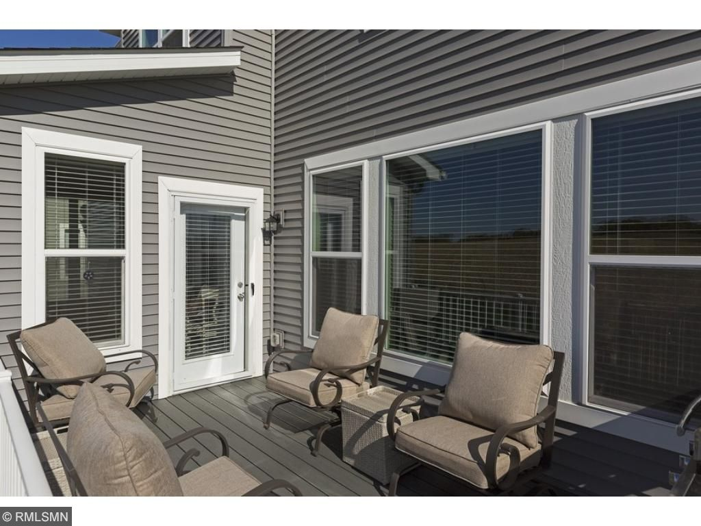 Relax and enjoy the great outdoors on your maintenance-free deck!