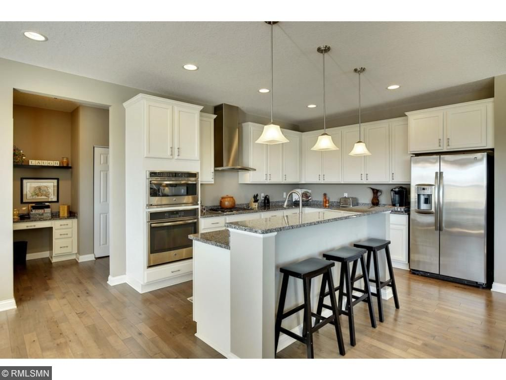 Just off the kitchen is a walk-in pantry and mudroom.