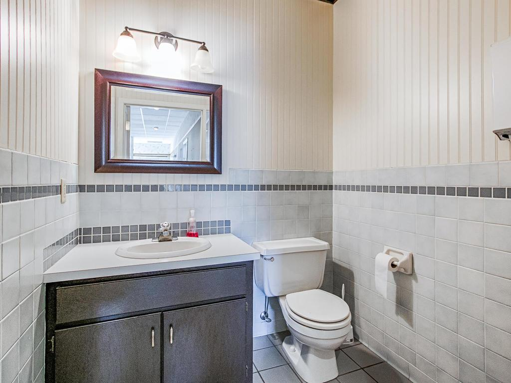Two of two bathrooms