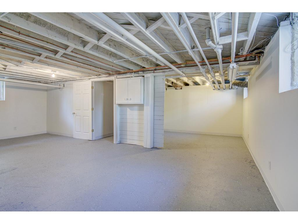 LOTS of Storage - Exclusive for unit 1. Possible options are available to finish the space for additional square footage