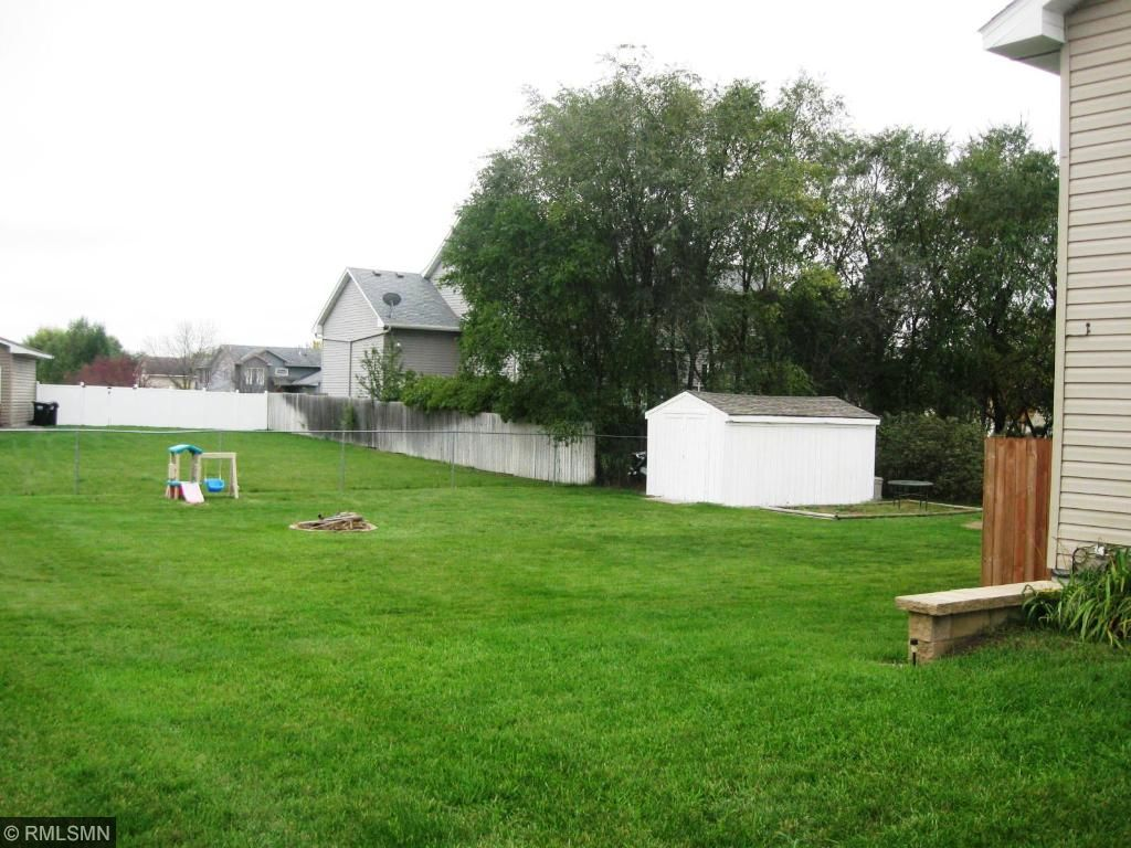 Yes, this is your fenced in backyard, and shed for all of your extras!