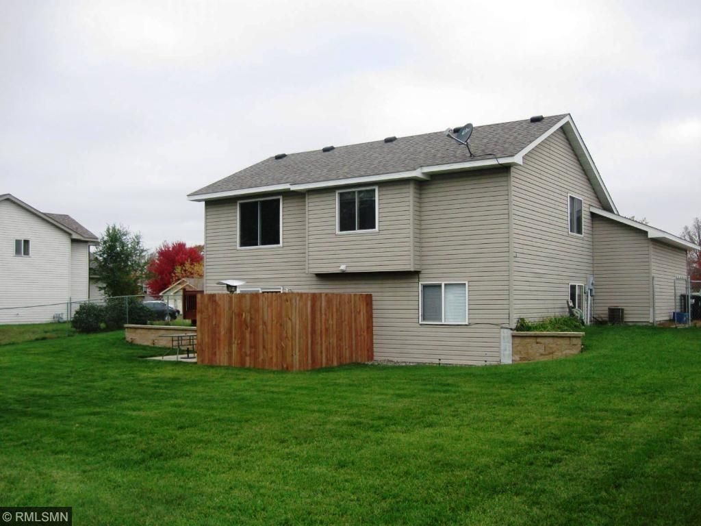 Nice privacy fence around your patio!