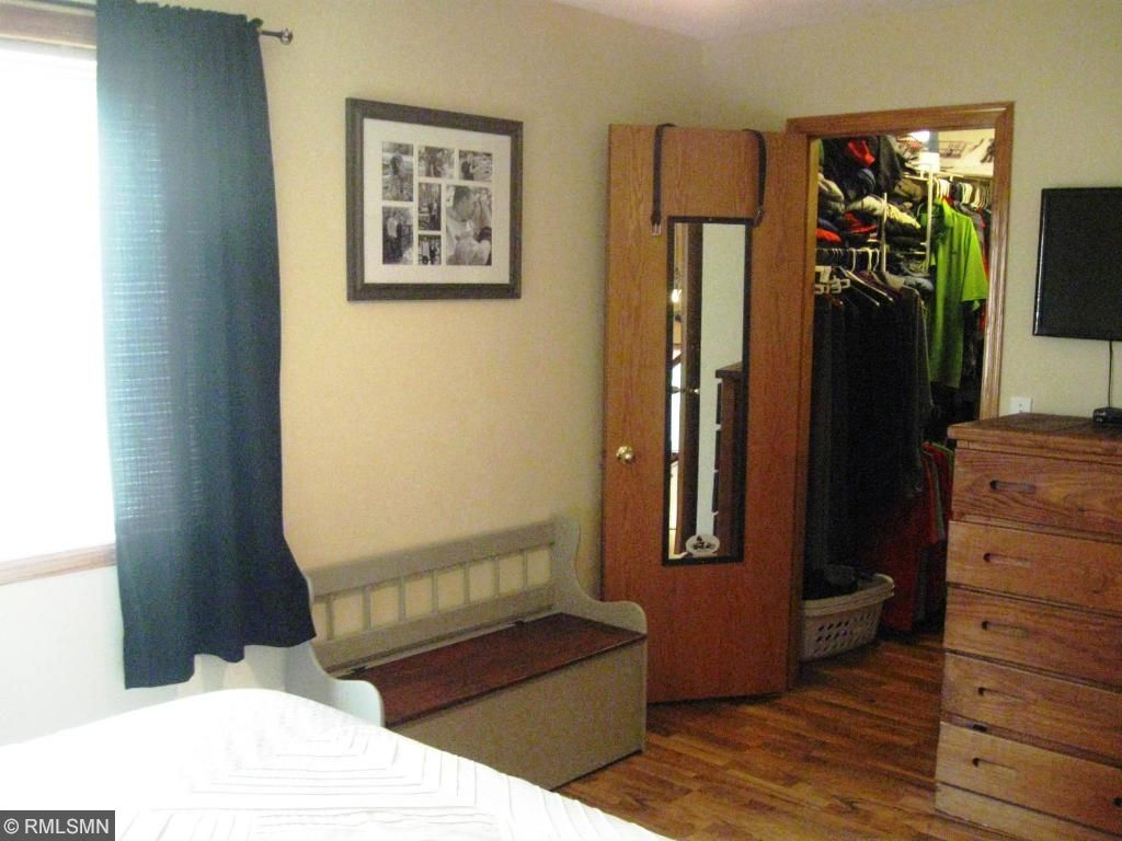 Master bedroom with great walk in closet.  Yes it's big enough for your king sized bed!