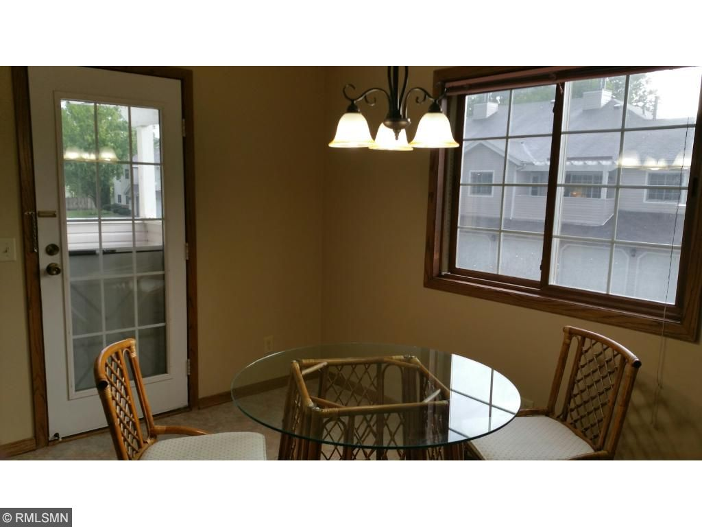 Plenty of room in kitchen for dining room table.Easy access from dining room to private deck