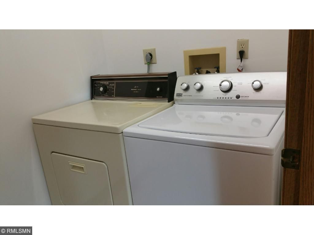 Washer & Dryer included. Newer Maytag  washing machine  & furnace is 4 years old.