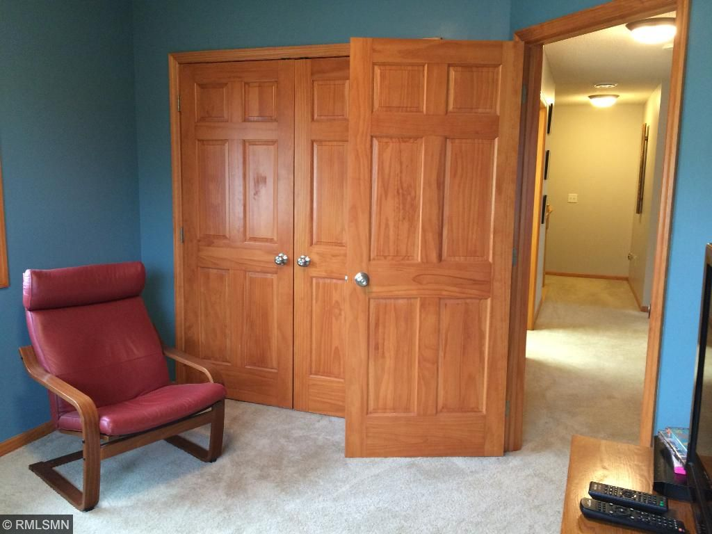 Notice The Six Panel Wood Doors Throughout the Home