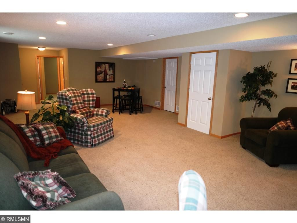 This area can fit a pool table, poker table and a theater area. Picture your family enjoying this family area. Large egress windows make the area a very enjoyable area to be in.