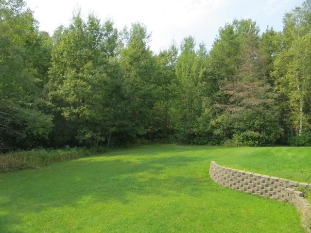 Beautiful backyard.