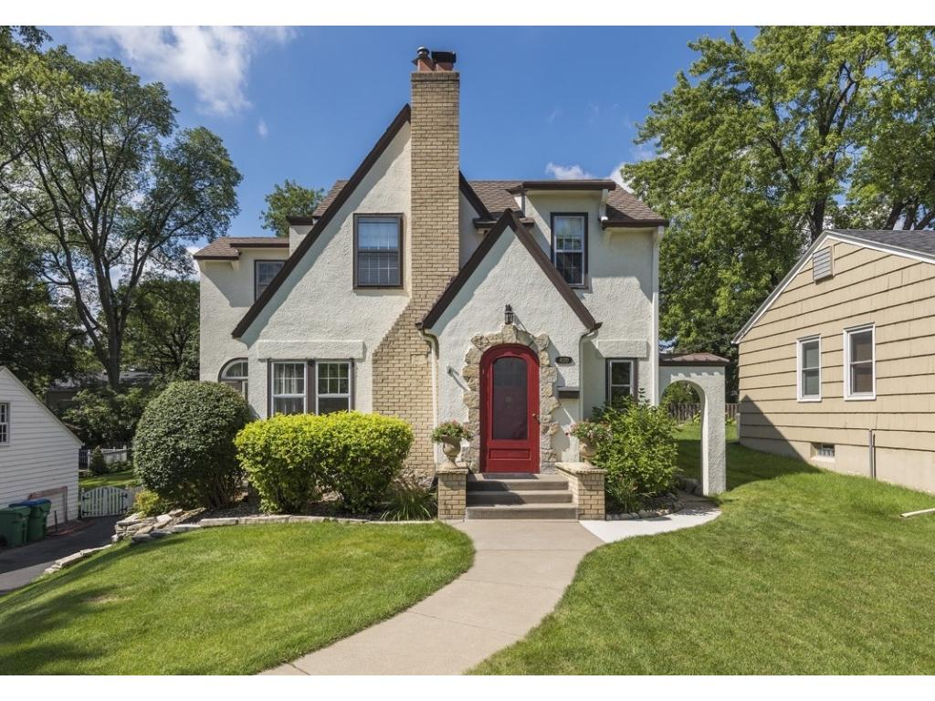 Incredible Charm Character And Curb Appeal In This Minikahda Vista Tudor Rounded Front