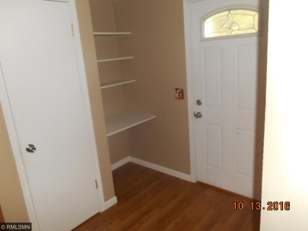 Pantry or storage right off kitchen