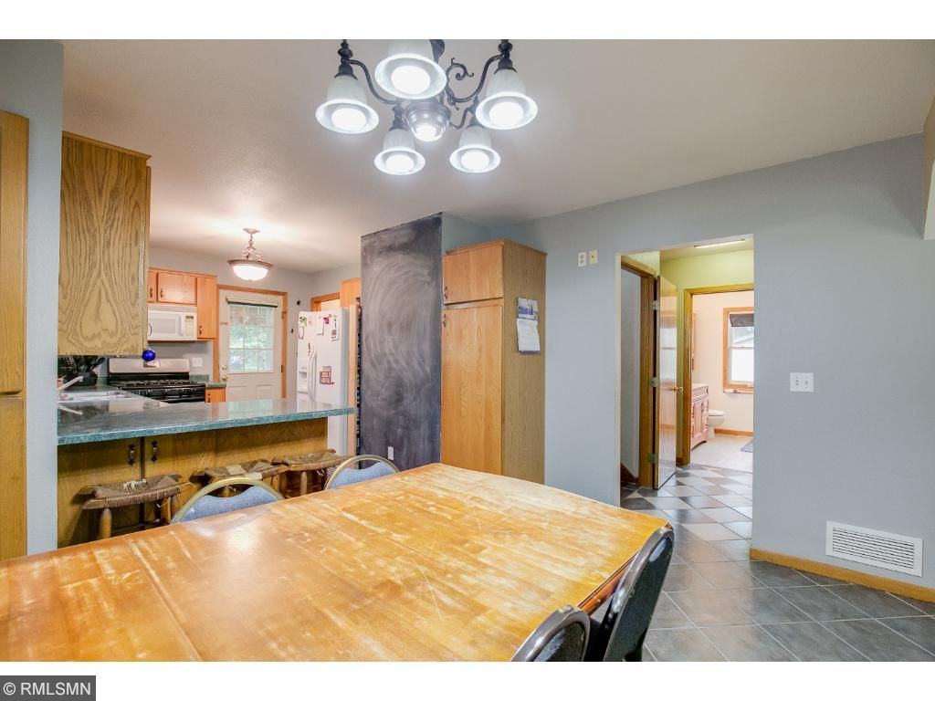 Eat in kitchen/dining area. Perfect for a large table.