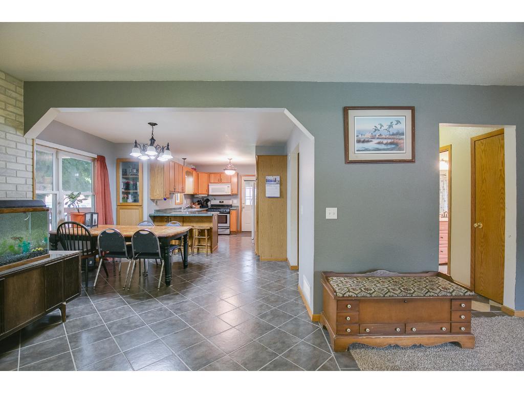 Open living main floor