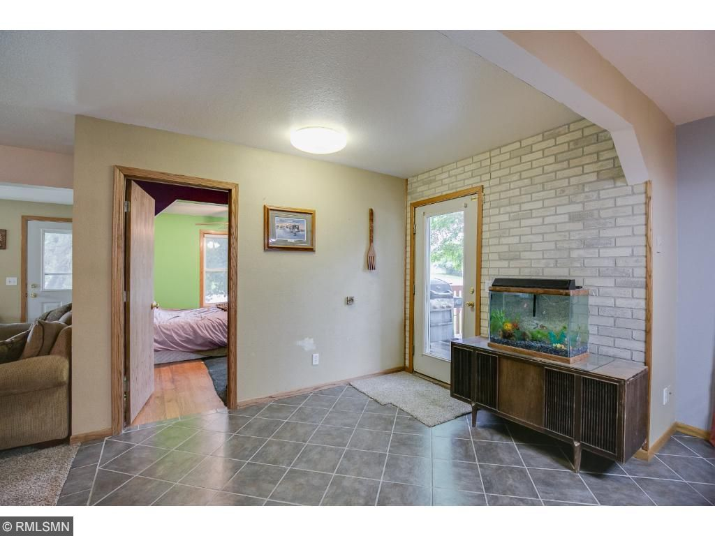 1 of 2 main level bedrooms - this room would make a great office also.