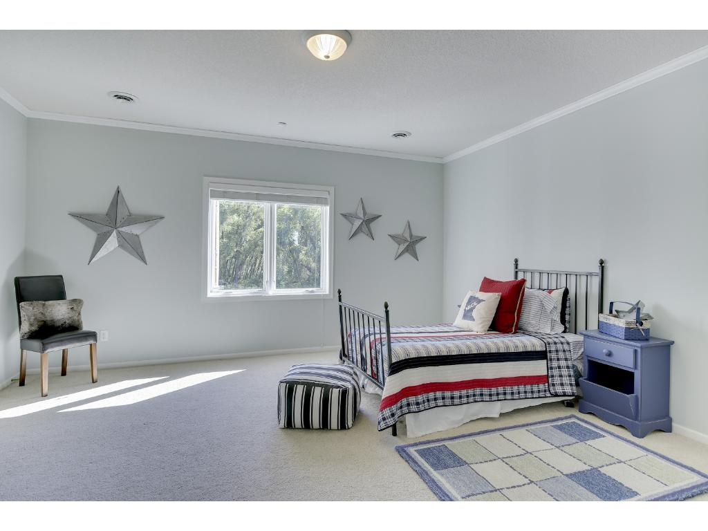 EXTRA large downstairs bedrooms
